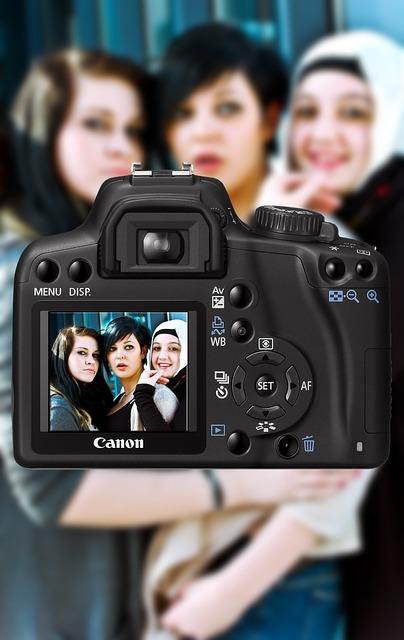 Camera, Girl, Photography, Human