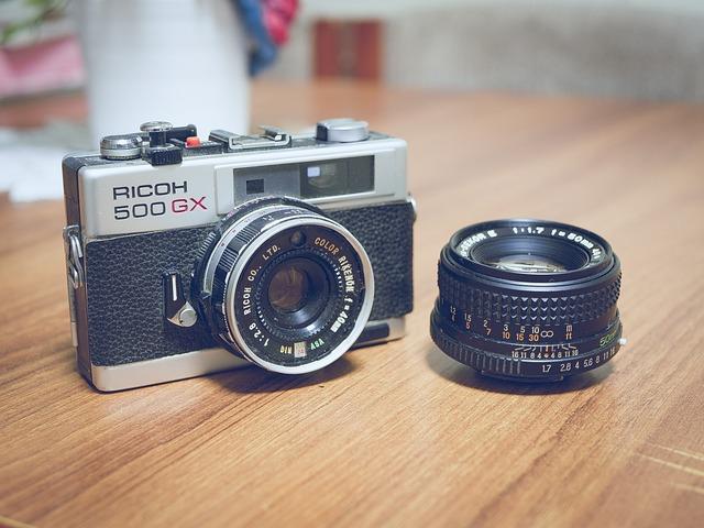 Camera, Slr, Dslr, Lens, Vintage, Photo, Photography