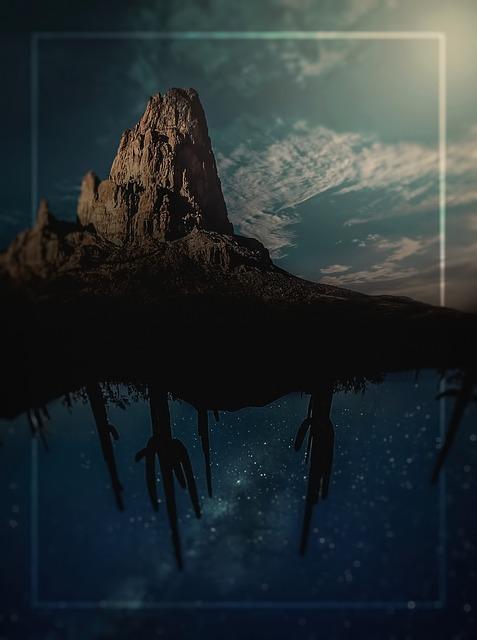Photomontage, Whale, Desert, Sky, Dreams