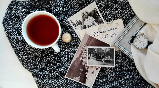 Tea, Photos, Black And White, Archive