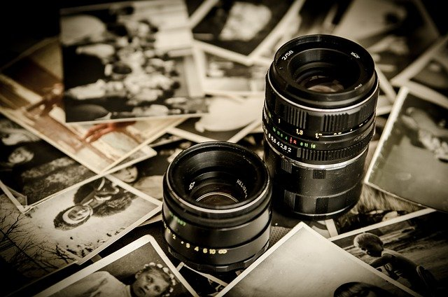 Photo, Lens, Lenses, Photographer, Old, Photos, Memory