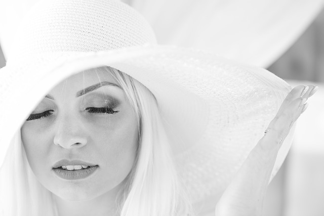 Woman, Hat, Photoshoot, Love