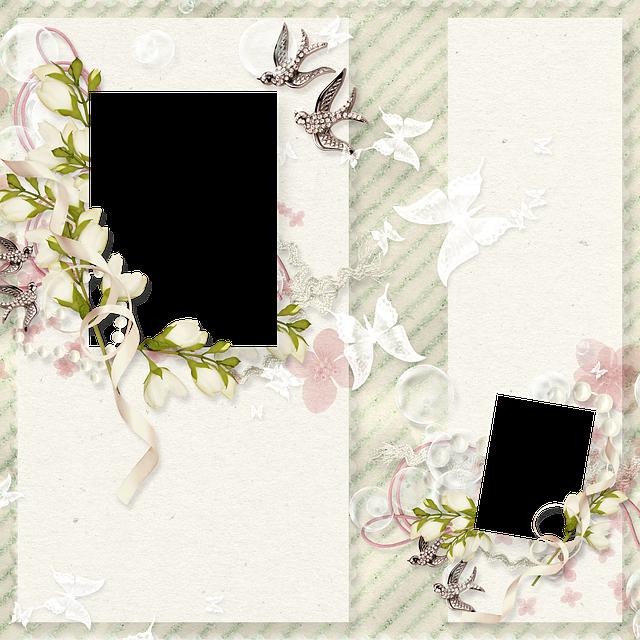 Frame, Photo Frame, Photoshop, Scrapbooking