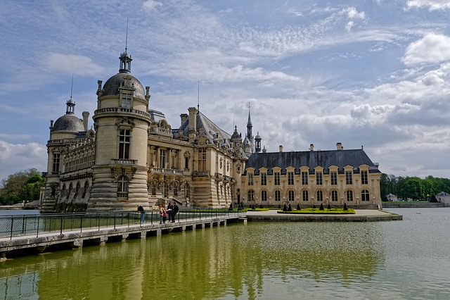 Chateau, Chantilly, France, Picardy, Architecture