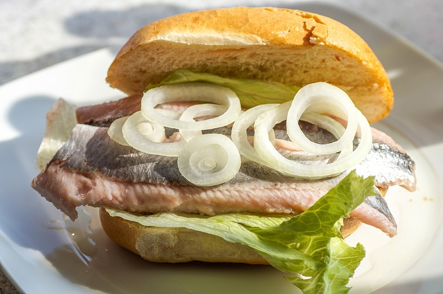 Maties, Pickled Herring Sandwiches, Fischbrötchen, Fish