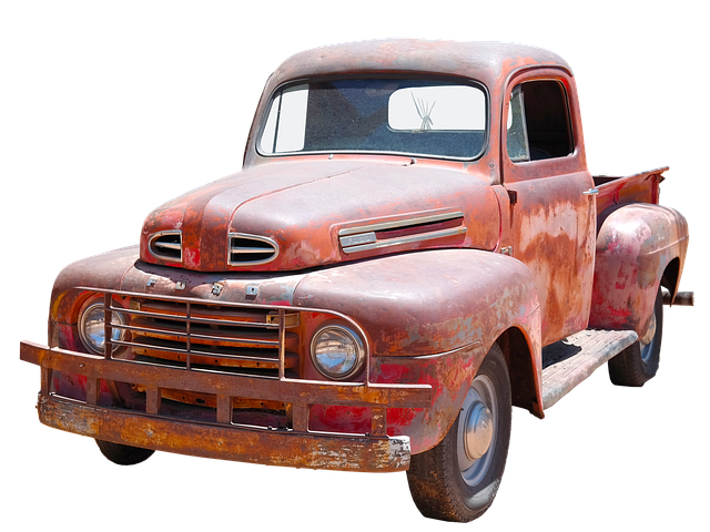 Ford, V8, Pickup, Isolated, Automotive, American, Auto