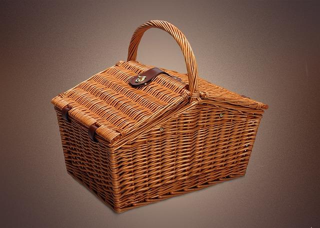 Basket, Picnic, Spring, Holidays