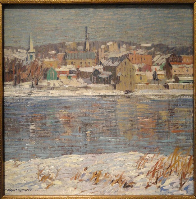 Across The Delaware, Robert Spencer, Artwork, Picture