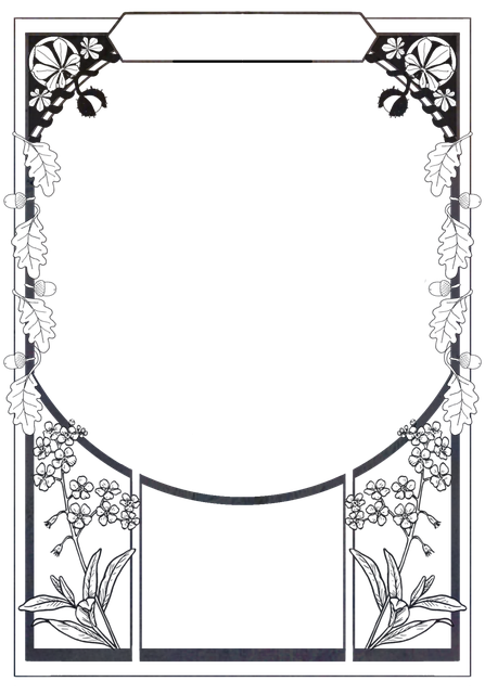 Ornament, Picture Frame, Frame, Decorative, Background