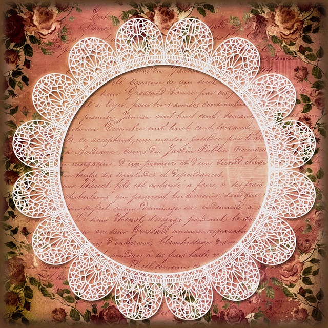 Wedding, Ornament, Great, Vintage, Retro, Picture Frame