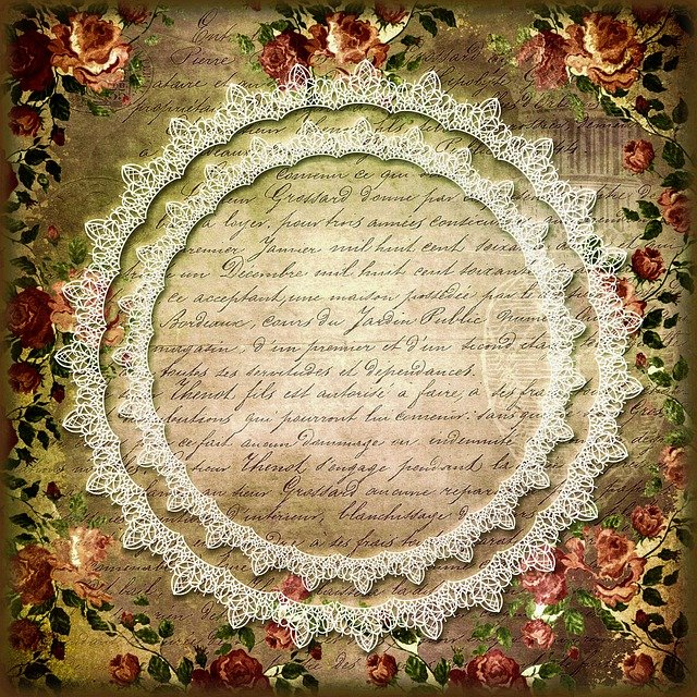 Picture Frame, Ornament, Retro, Background, Vintage
