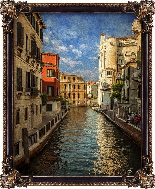 Venezia Town, Digital Photography, Picture