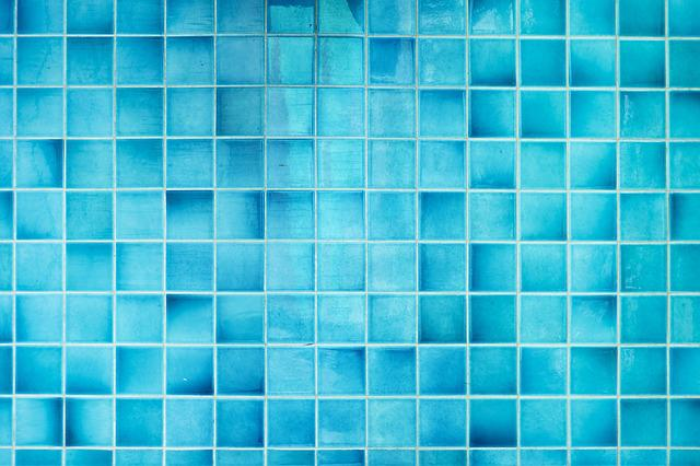 Mozaico, Blue, Background, Pictures