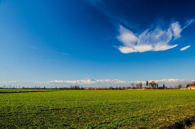 Landscape, Nature, Piemonte, Italy, Mountain, Vista