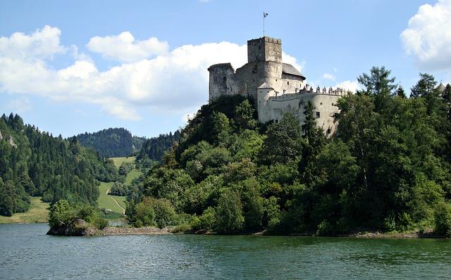 Pieniny, Poland, Castle, Water, Malopolska