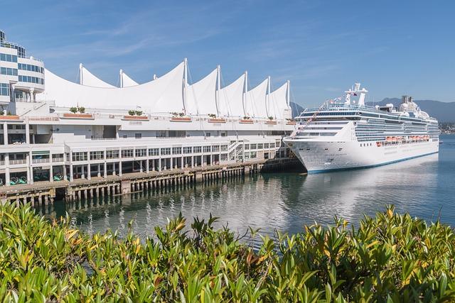 Vancouver, Canada, Port, Cruise Ship, Pier, Pacific