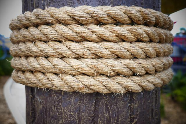 Rope, Pier, Dock, Sea, Marine, Nautical, Port, Harbor