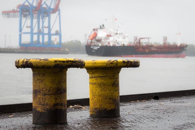 Bollard, Kai, Port, Pier, Investors, Anchorage, Hazy