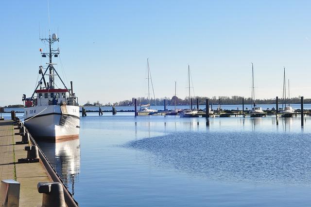 Waters, Pier, Port, Sea, Ship