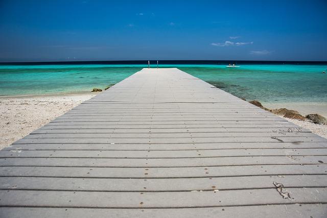 Pier, Tropical, Beach, Summer, Ocean, Vacation, Exotic