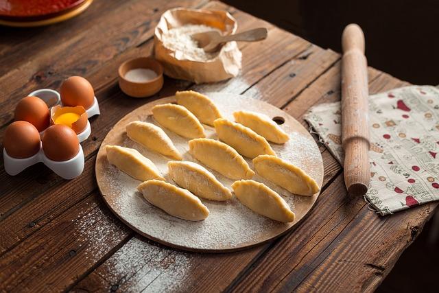 Cooking, Pies, Vareniki, Pelmeni, Cook, Food, Kitchen