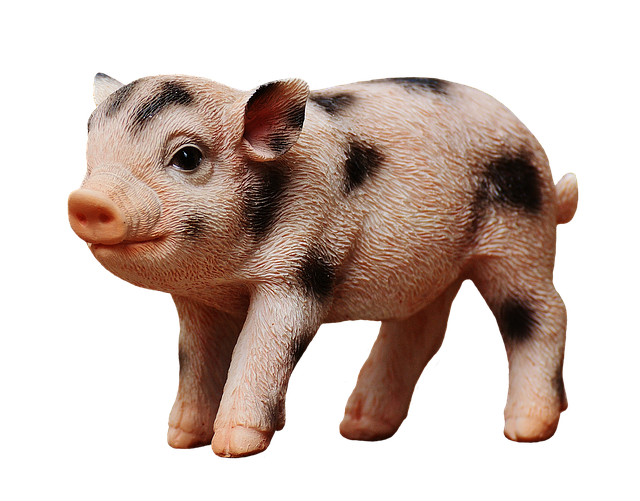 Piglet, Figure, Cute, Funny, Decoration, Deco, Isolated