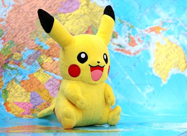 Pikachu board map game mania pokemon territory 1591427