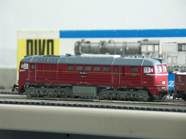 Model Railway, Piko, Diesel Locomotive, Taiga Drum