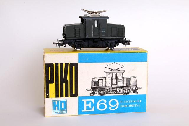 Model, Model Railway, Loco, Electric Locomotive, Piko