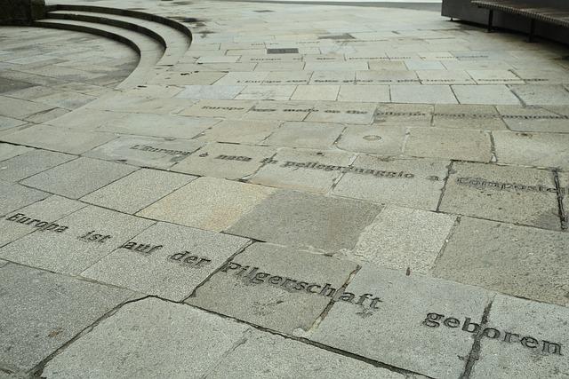 Jacobs Way, Santiago De Compostela, Europe, Pilgrimage