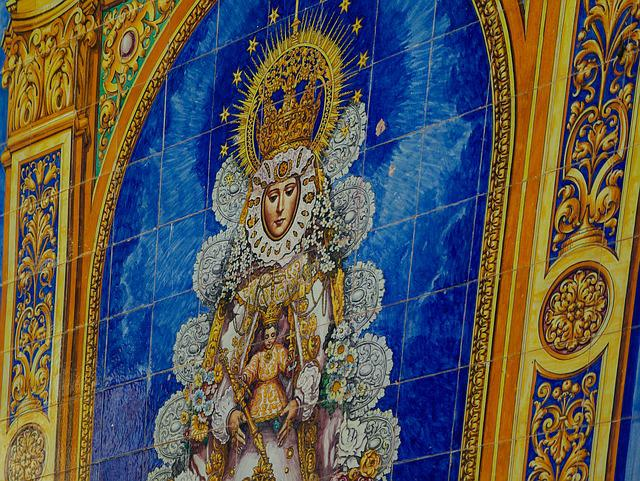 Virgin, Andalusia, Spain, El Rocío, Pilgrimage