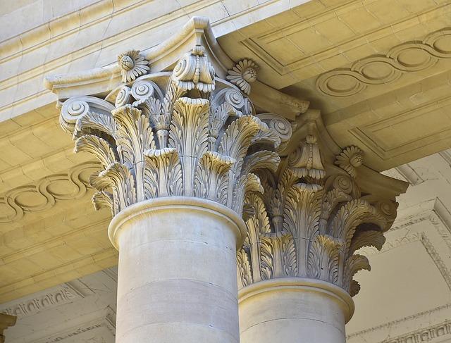 Column, Architecture, Old, Pillar