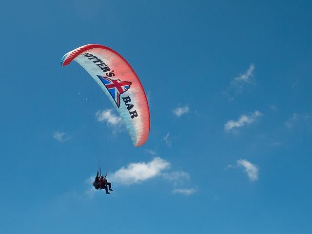Paragliding, Paraglider, Pilot, Floating Sailing