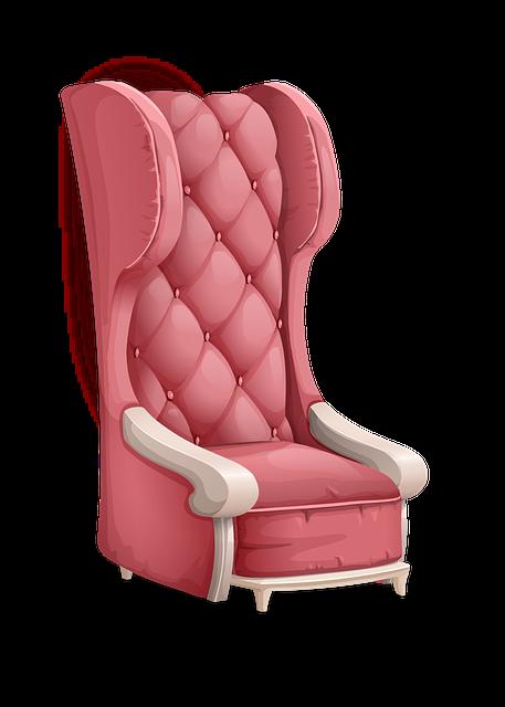 Chair, Armchair, Pink, Furniture, Retro, Design, Decor