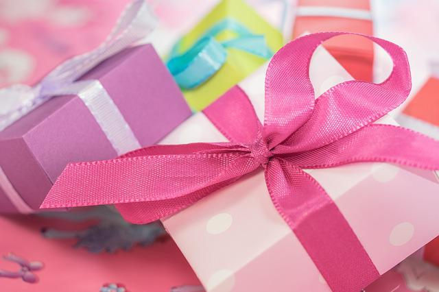 Pink, Gifts, Boxes, Presents, Gift Boxes, Ribbons