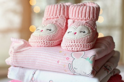 Booties, Baby, Girl, Baby Girl, Baby Clothes, Pink