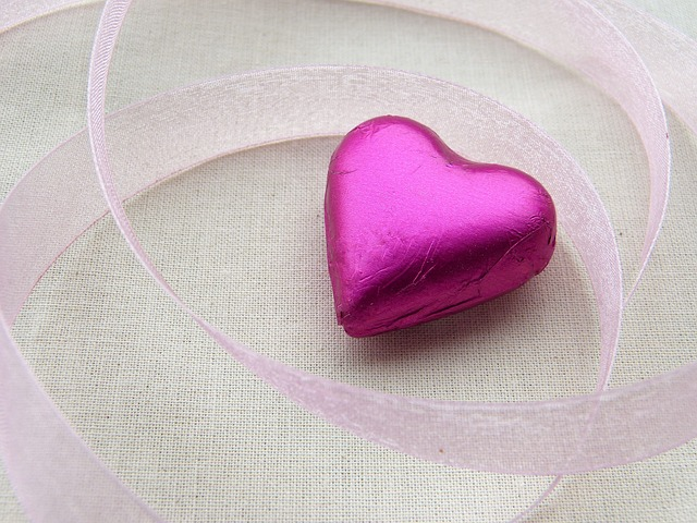 Heart, Pink, Loop, Greeting Card, Thank You
