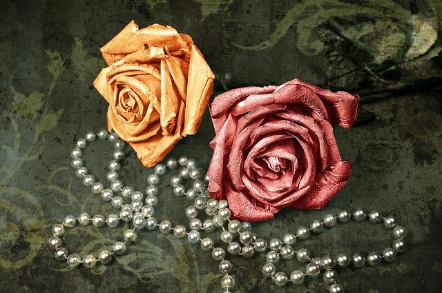 Rose, Flower, Paper Rose, Pink Rose, Yellow Rose