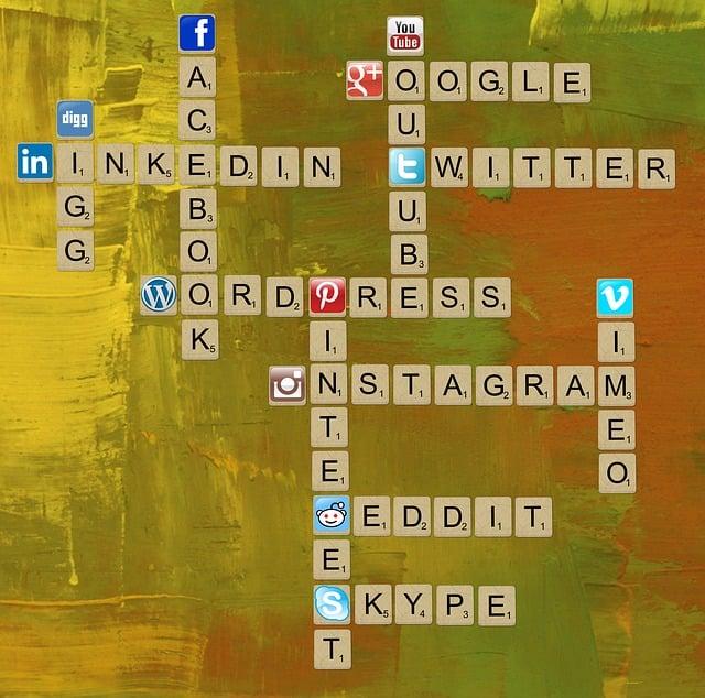 Social Media, Twitter, Linkedin, Facebook, Pinterest