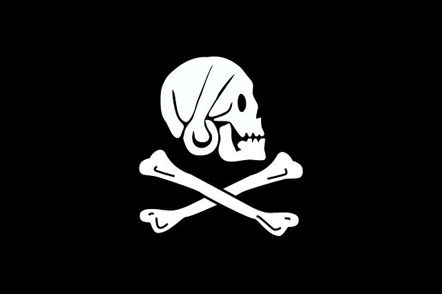 Flag, Pirate, Symbols, Henry Every, Black