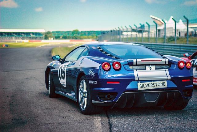 Car Race, Ferrari, Racing Car, Pirelli, Speed, Blue