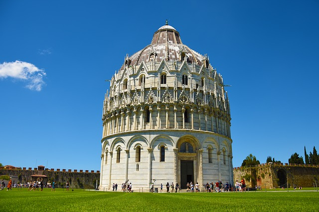 Pisa, Church, Tuscany, Italy, Architecture, Dom