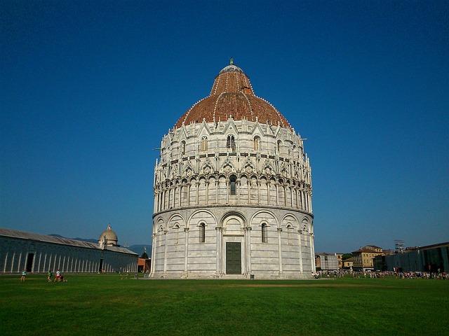 Baptistry, Pisa, Tuscany, Italy, Monument