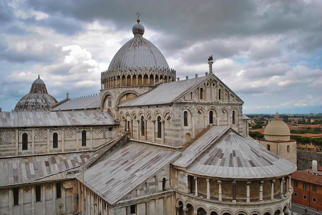 Architecture, Old, Religion, Travel, Building, Pisa