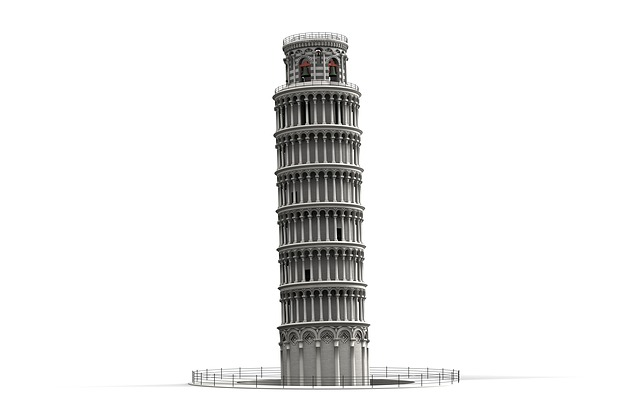 Skewness, Tower, Pisa, Building, Places Of Interest