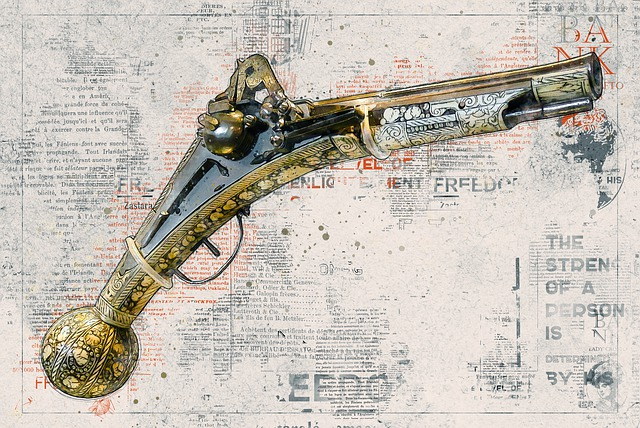 Pistol, Old, Weapon, Middle Ages, Historically, Antique