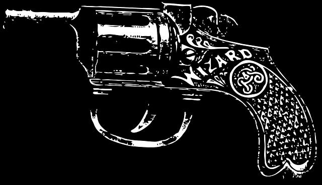 Pistol, Vintage Pistol, Gun, Vintage, Weapon, Handgun