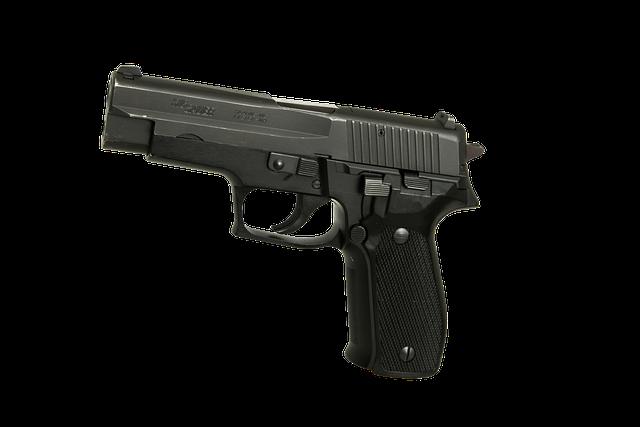 Handgun, Pistol, Firearm, Gun, Weapon, Crime, Bullet