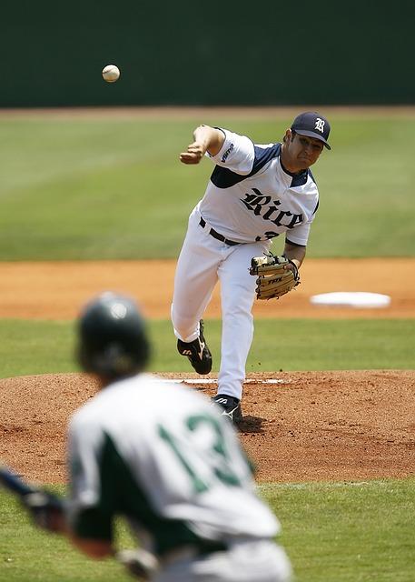 Baseball Pitcher, Baseball, Pitch, Pitcher, Throwing