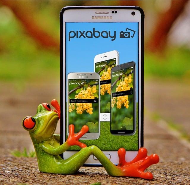Pixabay, Image Database, Photos, Mobile Phone, App